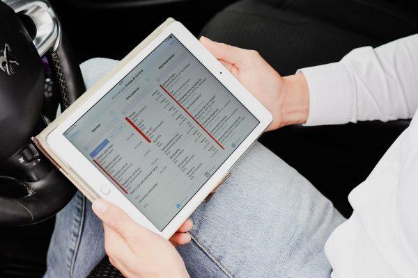 sales app voor tablet