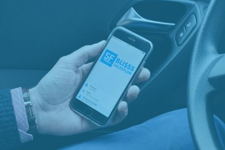 Salesflow is een CRM app voor op de mobiel