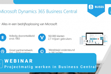 webinar project business central
