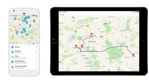 google maps koppeling