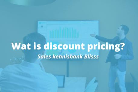 Wat is discount pricing?