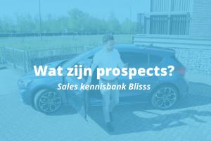 Wat zijn prospects?