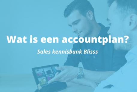 wat is een accountplan?