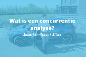 Wat is een concurrentie analyse?