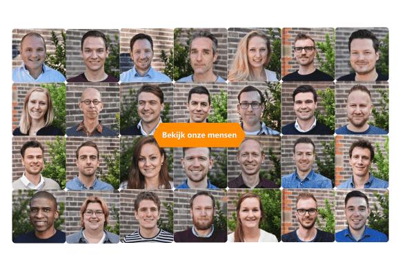 Medewerkers die bij Blisss software werken