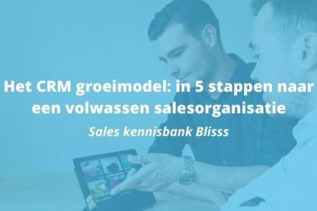 Het CRM groei model